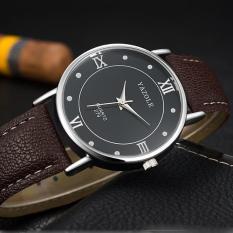 Đồng hồ nam Yazole 279 dây da sang trọng + Tặng hộp đồng hồ Win Win (Nhiều màu)