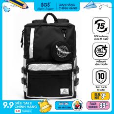 Balo Flex Saigon Swagger SGS (Tặng kèm túi đựng Airpods) – Balo Laptop Thời trang, Chất liệu Polyester tráng PU cao cấp, trượt nước chống thấm nước, Ngăn chống sốc riêng biệt, Nhiều ngăn, Balo Học sinh