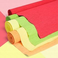 Giấy nhăn,giấy nhún thủ công bản rộng 50cm cuộn dài 2,5m