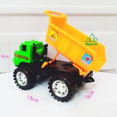 [HCM]Xe công trình- Xe mô hình đồ chơi xe xây dựng xe tải cần cẩu máy xúc xe ben xe bồn Diệp Linh