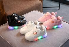 Giày da thể thao phát sáng dành cho bé cao cấp 2020