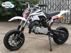 Xe cào cào Mini Sport 50cc (Xăng Pha nhớt + Trọng Tải 100Kg + Bánh To )