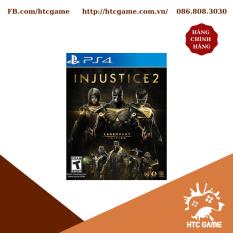 Đĩa Game Ps4 Injustice 2