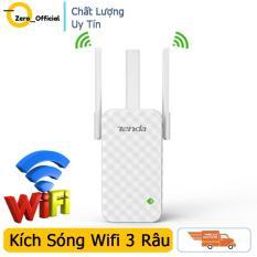 Bộ kích sóng Wifi Tenda A12 ba râu, máy kích sóng wifi 3 râu cực khỏe bảo hành 1 đổi 1 miễn phí