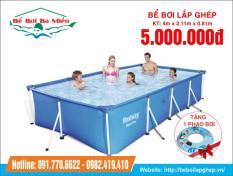 Bể bơi bestway 56405 KT 4m x 2.11m x 81cm