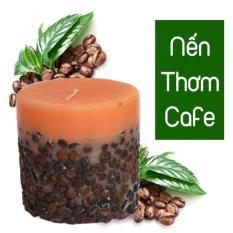 Nến thơm Cafe PUREVESS 200gr | Giúp thư giãn, giảm căng thẳng, giúp tỉnh táo.