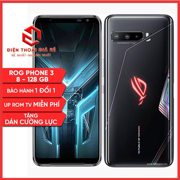 Điện thoại Asus ROG Phone 3 Tencent – RAM 8-128GB -[Giá rẻ, Bảo hành 3 tháng1 đổi 1 – Tặng dán cường lực]