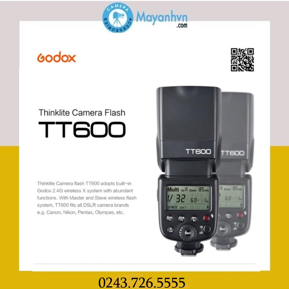 Đèn Flash Godox TT600 ( Bảo hành 12 tháng)