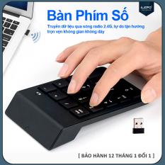Bàn phím số không dây, bàn phím không dây nhỏ gọn, siêu nhạy, đa năng, 18 phím thích hợp dùng cho nhiều thiết bị iMac/MacBook Air/Pro Laptop Máy Tính Xách Tay Máy Tính Để Bàn – Bảo hành 12 tháng G3