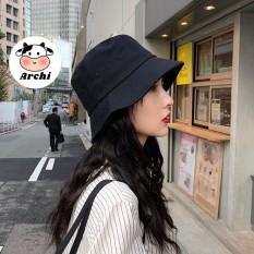 [Lấy mã giảm thêm 30%]Mũ nón bucket idol trơn Kpop