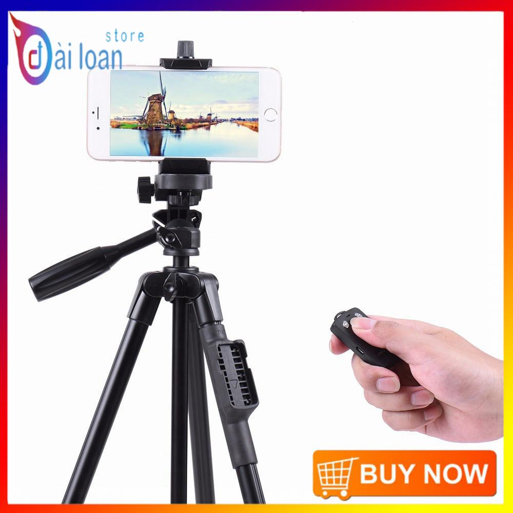 [Chân chụp ảnh] Chân đế Tripod Bluetooth cho điện thoại và máy ảnh TTX – 6218 (Kèm túi đựng và remote bluetooth)