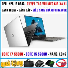 [Nhập ELMAR31 giảm 10% tối đa 200k đơn từ 99k]laptop siêu mỏng víp Dell XPS 13 9343 – Tuyệt tác xa xỉ đẳng cấp – core i7 5500 core i5 5200 màn 13.3in nặng 1.3kg