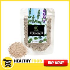 Túi Hạt chia trắng Organic Mỹ Real Food (100G)