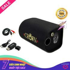 Combo Loa Crown 5, Cáp Bông Sen, Thu Bluetooth