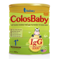 Sữa Non Colosbaby Gold 1+ 1000 IgG 800 g