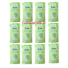 HCM, HSD 2023- Combo 12 túi Nước rửa bình sữa DNEE 600ml