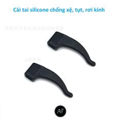Phụ kiện Cài tai silicone chống xệ tụt, rơi kính (1 cặp)