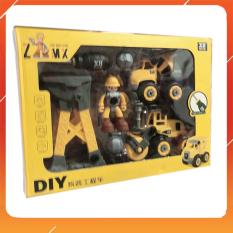 Đồ Chơi Noel – Xe Công Trình Xây Dựng Đi Kèm Nhân Vật – Đồ Chơi Trẻ Em Toy Mart