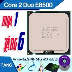 Bộ Vi Xử Lý Intel Core 2 Duo E8500 3.16Ghz, 2 lõi, 6Mb Cache, Bus 1333MHz – tặng keo tản nhiệt.