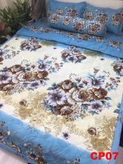 Chăn trần 2 mặt cotton poly CP12 hàng loại 1 màu sắc trang nhã cho phòng ngủ hiện đại