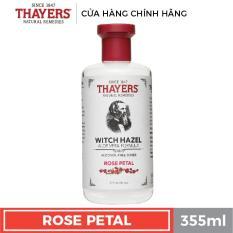 Nước hoa hồng không cồn THAYERS – Hương hoa hồng 355ml