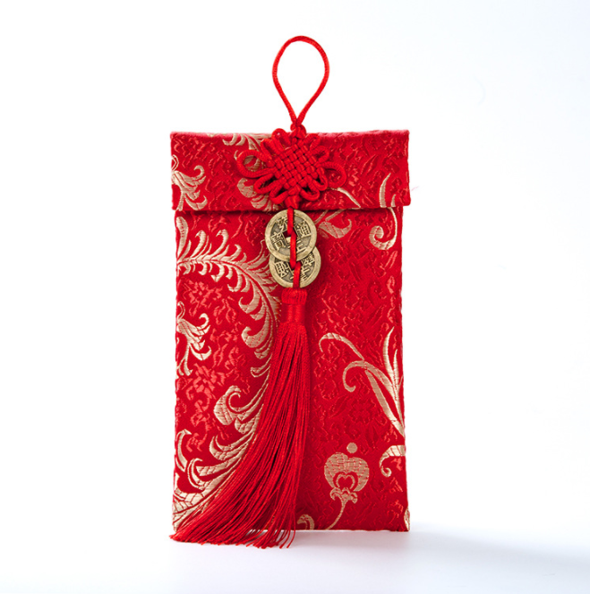 Bao lì xì vải gấm cho bé mừng tuổi ông bà cha mẹ đem lại may mắn dịp Tết