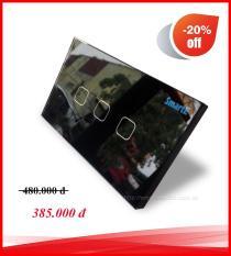 CÔNG TẮC CẢM ỨNG ĐIỀU KHIỂN TỪ XA 315Mhz SmartE SK-A0803B(màu đen)