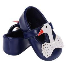 Giày tập đi cho bé gái 0-18 tháng hình thiên nga đáng yêu BBShine – TD1