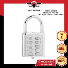 Ổ khóa mã số CJSJ, hợp kim kẽm, được sơn tĩnh điện chống rỉ ( Loại lớn 10 số ) – Huy Tưởng
