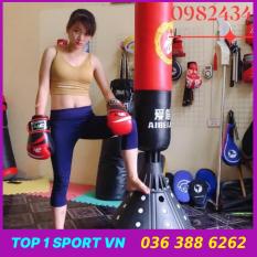 Bao cát đấm bốc Bao Trụ Boxing Tự Đứng Thế Hệ Mới Aibeijiansport® – Cao 1m7, đường kính 28 cm – Thiết bị tập đấm bốc, boxing chuyên nghiệp, bảo hành 1 năm