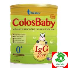 Sữa Non Colosbaby Gold 1000lgG 0+ 800g Date T6.2022