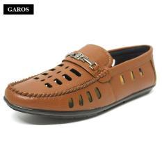 Giày lười đục lỗ nam thời trang GAROS GN6865