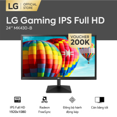 [FREESHIP – VOUCHER 200K] Màn hình máy tính LG Gaming IPS Full HD 1920 x 1080 l 5ms 75Hz l FreeSync™ l 24MK430H-B l HÀNG CHÍNH HÃNG