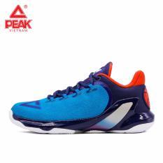 Giày bóng rổ nam Peak Tony Parker V E73323A – Xanh Đỏ