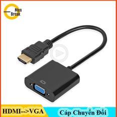 Cáp chuyển đổi HDMI to VGA giá rẻ,cáp chuyển đổi dữ liệu hình ảnh,thâm thanh tiện lợi, chất lượng cao