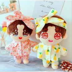 Set đồ ngủ kèm băng đô cho doll 20-22cm (B1B05), cam kết hàng đúng mô tả, đhất lượng đảm bảo, đa dạng mẫu mã, màu sắc, kích cỡ