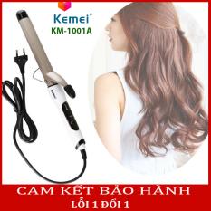 (Có video hướng dẫn)Máy làm xoăn tóc tự động 4 mức chỉnh nhiệt độ KEMEI 1001A, máy uốn tóc KEMEI giúp bạn uốn xoăn tóc tại nhà một cách dễ dàng, máy làm tóc mini, máy làm tóc đa năng mini, máy làm xoăn tóc mini, máy làm tóc