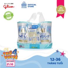 [TẶNG BÌNH NƯỚC BEDDY BEAR 400K – ĐƠN 1599K] CB Glico Icreo Follow up Milk số 1 gồm 2 hộp 820g & 5 thanh sữa tiện dụng (5 thanh x 13.6g) – 100% nội địa Nhật Bản – HSD tối thiểu 10 tháng