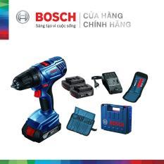 Máy khoan vặn vít dùng pin Bosch GSR 180-LI + phụ kiện MỚI