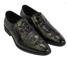 Giày Tây Công Sở Nam Da Bò Vân Cá Sấu UDANY Mẫu Mới – GLN23