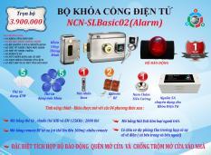 Bộ khóa cổng điện tử NCN-SLBASIC02 – Alarm
