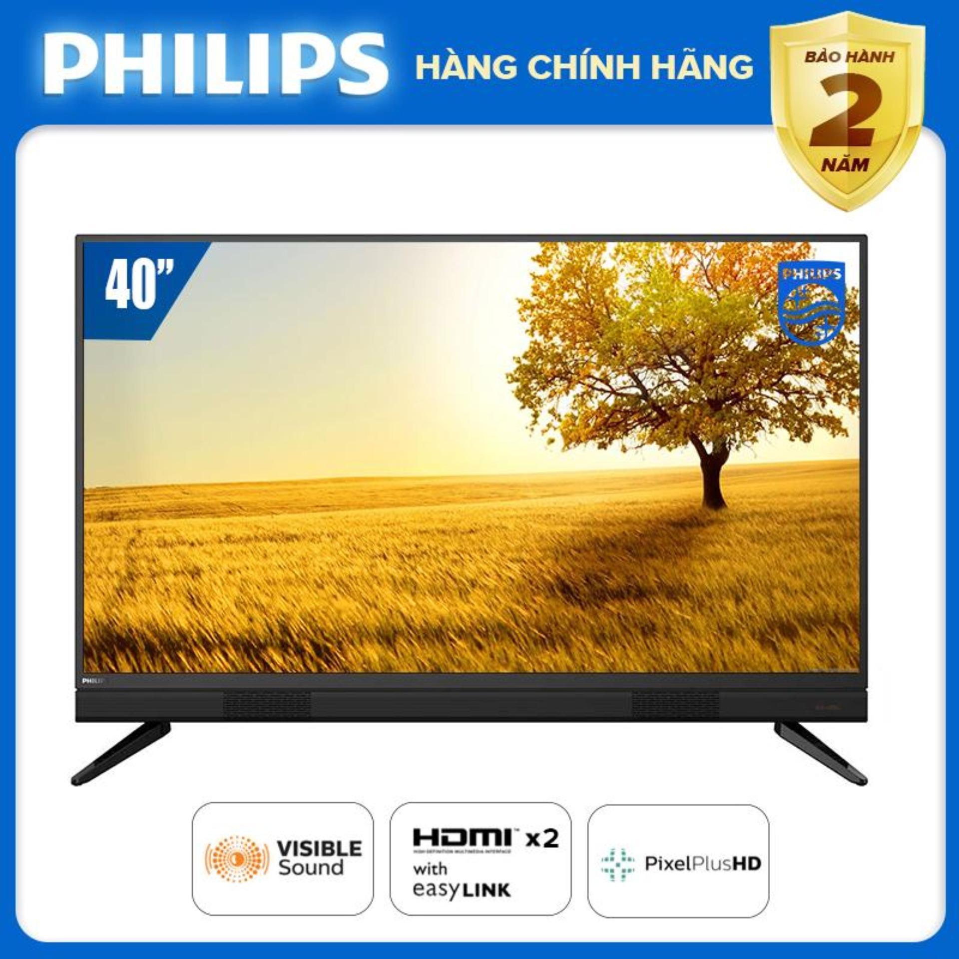 [Trả góp 0%]TIVI PHILIPS 40 INCH 40PFT5583/74 LED FULL HD. - TẶNG USB 16G CỰC CHẤT (DIGITAL TV DVB-T2 HÀNG...
