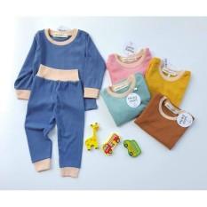 Bộ dài tay thu đông VẢI LEN TĂM cao cấp MINKY cho bé trai bé gái sơ sinh 5-15kg hàng xuất xịn nhiều màu lựa chọn-B043