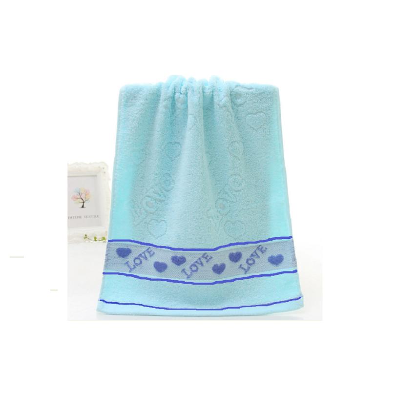 Khăn Mặt Cotton Màu Pastel 35x73cm, Khăn Tắm Bông Dày Dặn, Mịn Và Siêu Thấm Hút