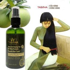 Dưỡng Tóc TINH DẦU BƯỞI TABAHA POMELO 120ml nuôi dưỡng tóc từ chân tóc tới ngọn, kích thích mọc tóc