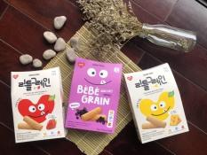 Bánh ăn dặm ngũ cốc Kemy Kids Hàn Quốc cho bé từ 8 tháng hộp 40g