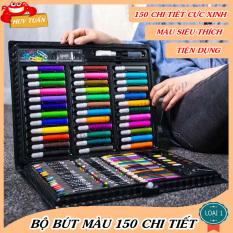 Bút màu tập tô 150 chi tiết, bảng màu 150 chi tiết Huy Tuấn