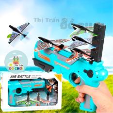 Đồ chơi sung phóng máy bay cho trẻ em , đồ chơi máy phóng máy bay bay lượn mô hình trẻ em 7154 – Thị trấn đồ chơi