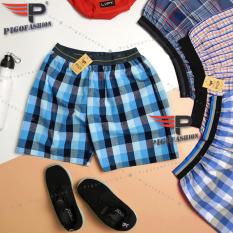 Quần Đùi Ngủ Pigo Fashion Thể Thao Nam Mặc Nhà Lưng Thun Chuẩn Qdn03-09 (Nhiều Màu)