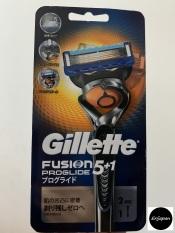 (1 cán + 2 bộ lưỡi) Dao cạo râu Gillette Fusion Proglide 5 + 1, hàng nội địa Nhật